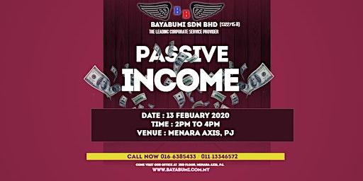 Passive Income - Free Talks