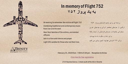 In Memory of Flight 752
