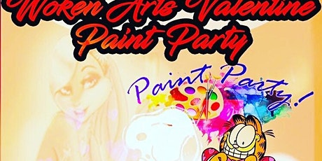 Woken Arts Paint Party~Sip Puff n paint  tickets