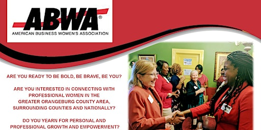 "EmpowerHer ABWA Chapter ""Empower Chat"" Tuesday, May 12th, Orangeburg, SC"
