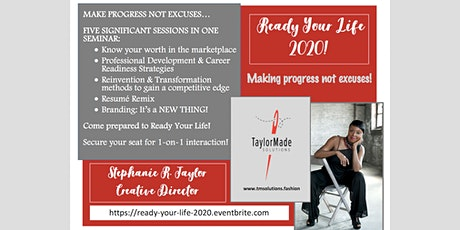 READY YOUR LIFE FOR 2020! tickets