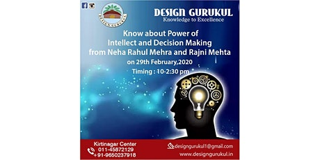 Power of Intellect and Decision Making tickets