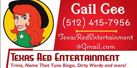 Warpath Pizza - Name That Tune Bingo & Texas Red Entertainment - Round Rock