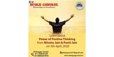 Power Of Positive Thinking  tickets