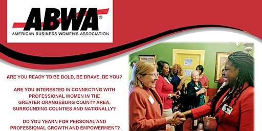 "EmpowerHer ABWA Chapter ""Empower Chat"" Tuesday, September 8th, Orangeburg, SC"
