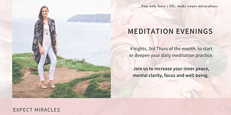 Meditation Evenings tickets