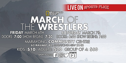 Wrestling GO: March Of The Wrestlers