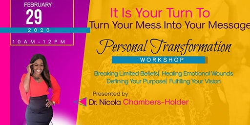 Turn your Mess into Your Message