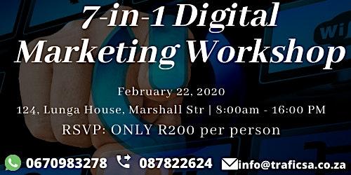 7-in-1 Digital Marketing Workshop