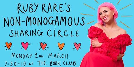 Ruby Rare's Non-Monogamous Sharing Circle tickets