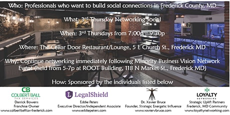 3rd Thursday Networking Social tickets