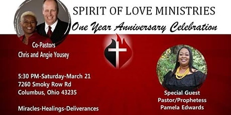 One year church anniversary celebration tickets