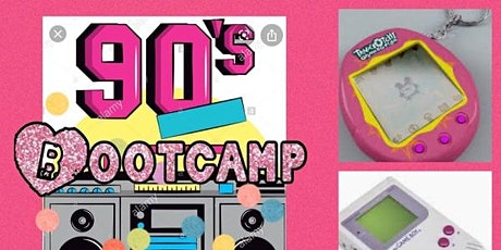 90's Themed Bootcamp with Claire -Slades tickets