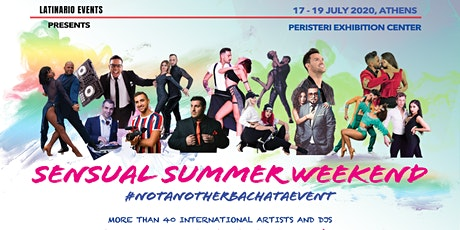 Sensual Summer Weekend & Dani J Live in Athens 17-19 July 2020! tickets
