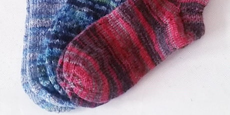 Toe-Up Sock Knitting Workshop tickets