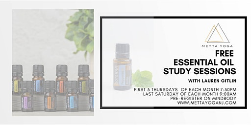 Essential Oil Study Session- Free Classes