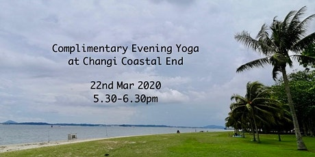 Complimentary Yoga by the beach at Changi tickets
