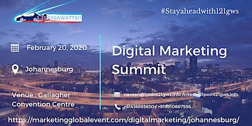 Digital Marketing Summit | February 20, 2020 | Johannesburg