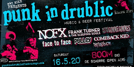 Punk In Drublic Belgium tickets