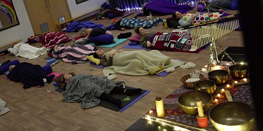 Gentle Yoga and Gong Bath Saturday 14th March 2020