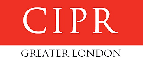 May CIPR Greater London Group #DrinknLink tickets