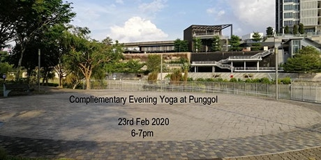 Complimentary Evening Yoga at Punggol tickets
