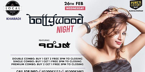 Wednesday Bollywood Night - Dj Pooja