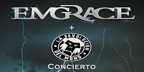 Concierto Emgrace +Revolucion del mono Sala Hysteria entradas