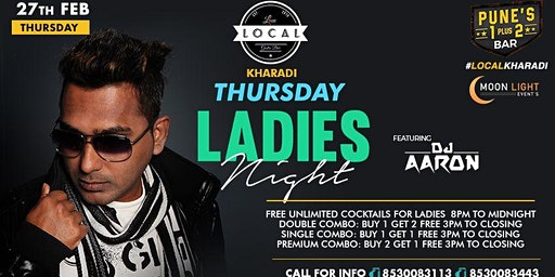 Thursday Ladies Night - Dj Aaron