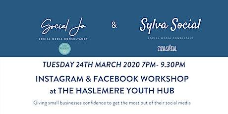 Instagram & Facebook Workshop tickets