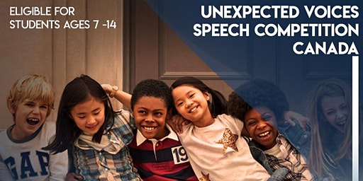 Unexpected Voices Speech Competition Canada | Semi-Finals