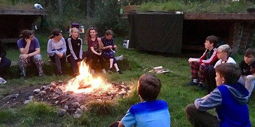 Family Camp at Fermyn Wood
