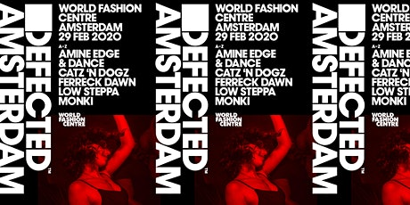 Defected Amsterdam tickets