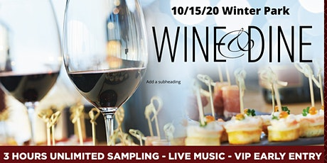 Winter Park Wine & Dine tickets