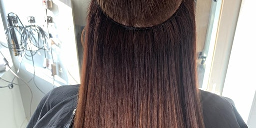 Hand Tied Extension Color Class: Brunette + Redhead Edition