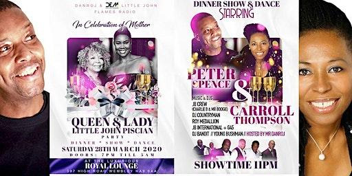 In Celebration of Mother , Queen & Lady + Piscean Birthnight Soir'ee Dinner Show Dance