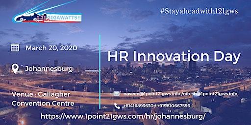 HR Innovation Day March 20, 2020  Johannesburg