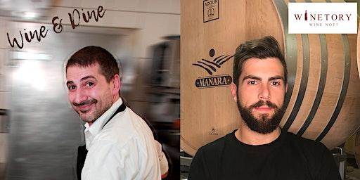 Wine and Dine Event mit Winzer Davide und Koch Dario,  Il RE MATTO Neuburg