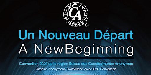 Cocaine Anonymous Switzerland Area 2020 Convention/Convention 2020 de la région Suisse des Cocaïnomanes Anonymes