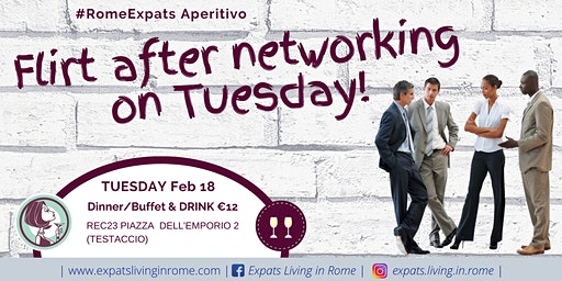 Flirt After Work on Tuesday Aperitif (TESTACCIO)