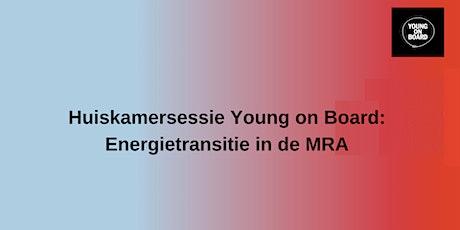 Huiskamersessie: Energietransitie in de MRA tickets