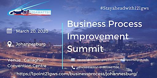 Business Process Improvement Summit | 20 March, 2020 | Johannesburg