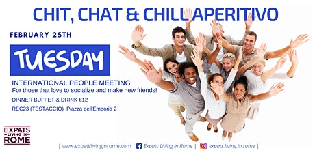 Chit, Chat & Chill ! International Friends Meeting tickets