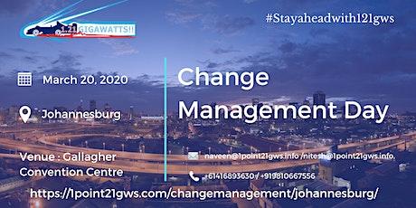 Change Management Day   20 March, 2020   Johannesburg tickets