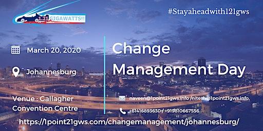 Change Management Day | 20 March, 2020 | Johannesburg