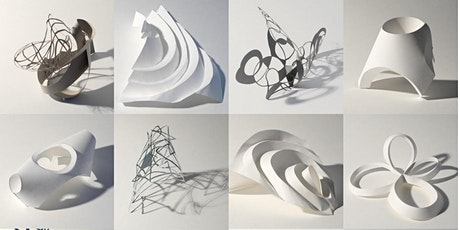 Paper Sculpture Workshop - cut, fold, construct tickets