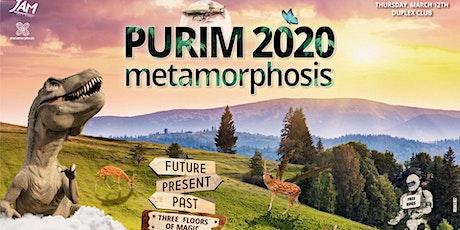 Metamorphosis: Purim 2020 - 3 Floors of Magic tickets
