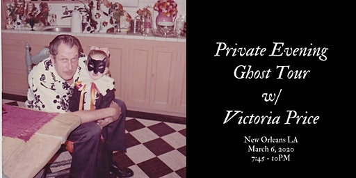 A Private New Orleans Evening Ghost Tour Hosted By Victoria Price