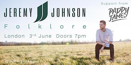 Jeremy Johnson @ Folklore tickets