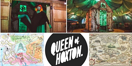 M.Y.O x Queen of Hoxton - Illustrated Map - Wizard of Oz themed tickets